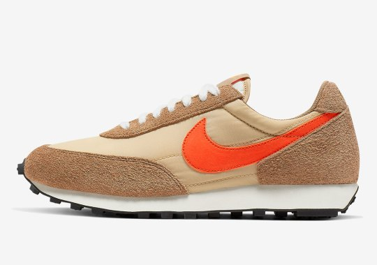 """The Nike Daybreak SP """"Canyon Gold"""" Is Launching This Weekend"""