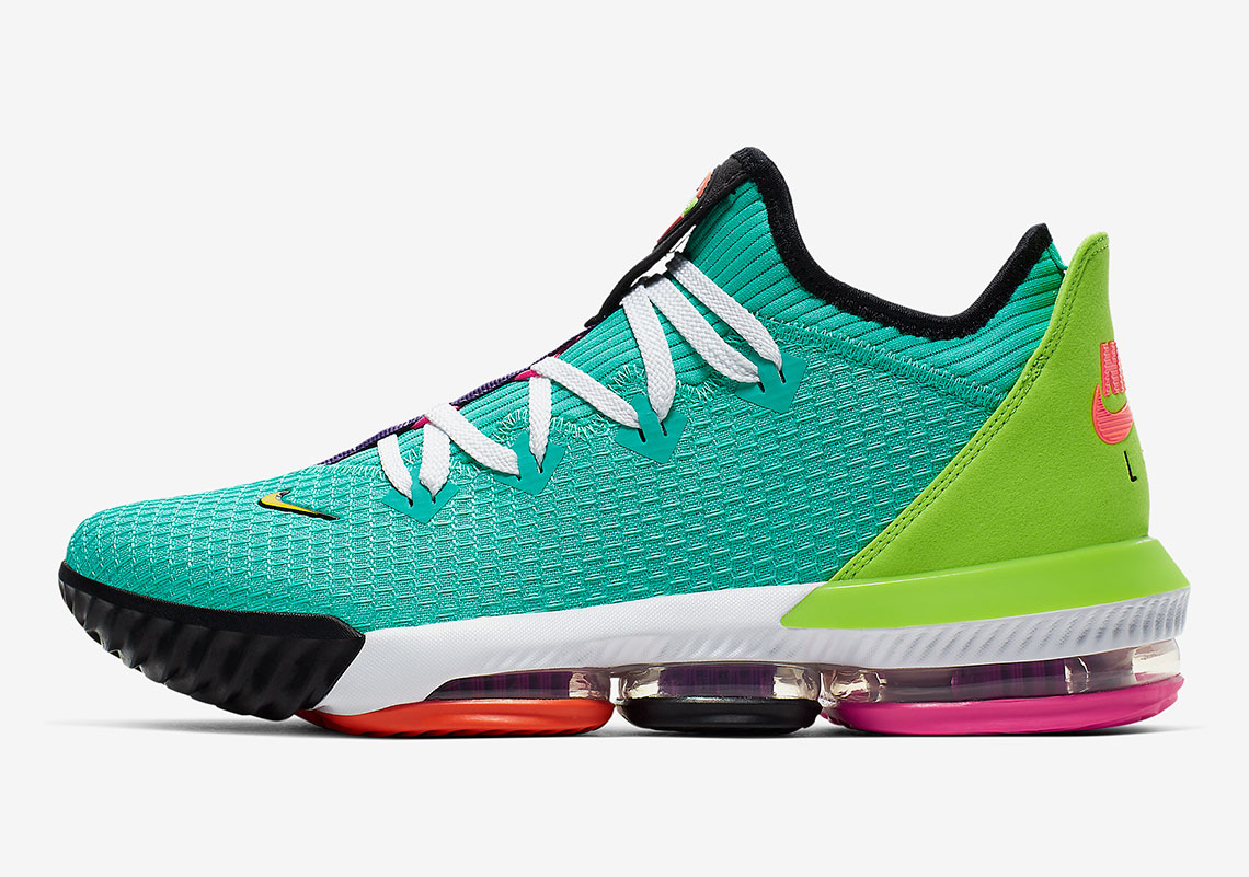 Nike LeBron 16 Hyper Jade CI2668-301