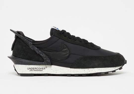 The UNDERCOVER x Nike Daybreak Returns On June 21st In Black And Sail