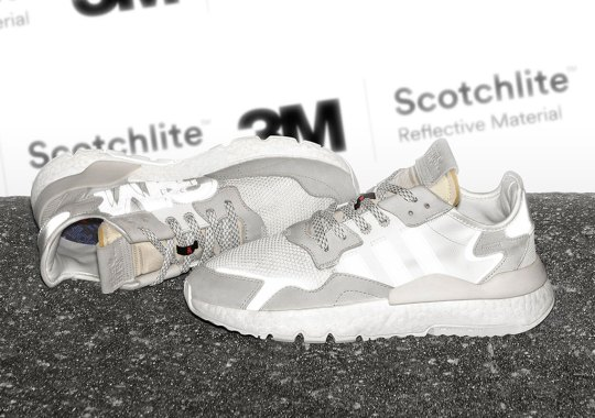 adidas Adds 3M Reflective To The Nite Jogger As A Nod To Its Origin