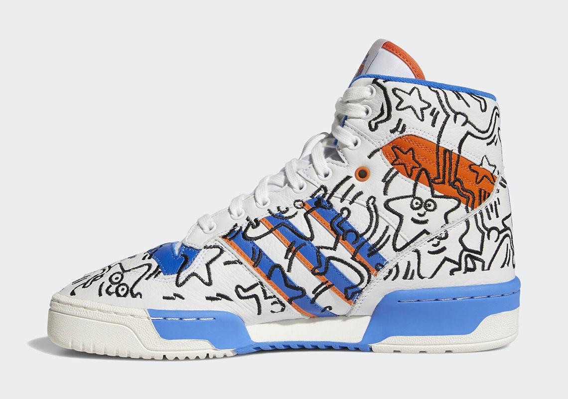 Keith Haring adidas Stan Smith Rivalry Nizza EE9295 EE9296