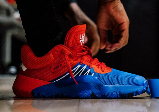 Marvel's Spider-Man And adidas To Launch Donovan Mitchell's Signature Shoe