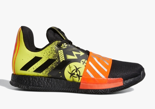 Handle James Harden's Toxic-Themed adidas Harden Vol. 3 With Care