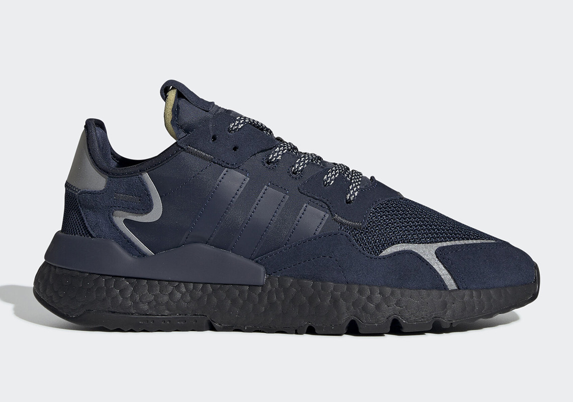 adidas Nite Jogger Navy Black EE5858 | SneakerNews.com