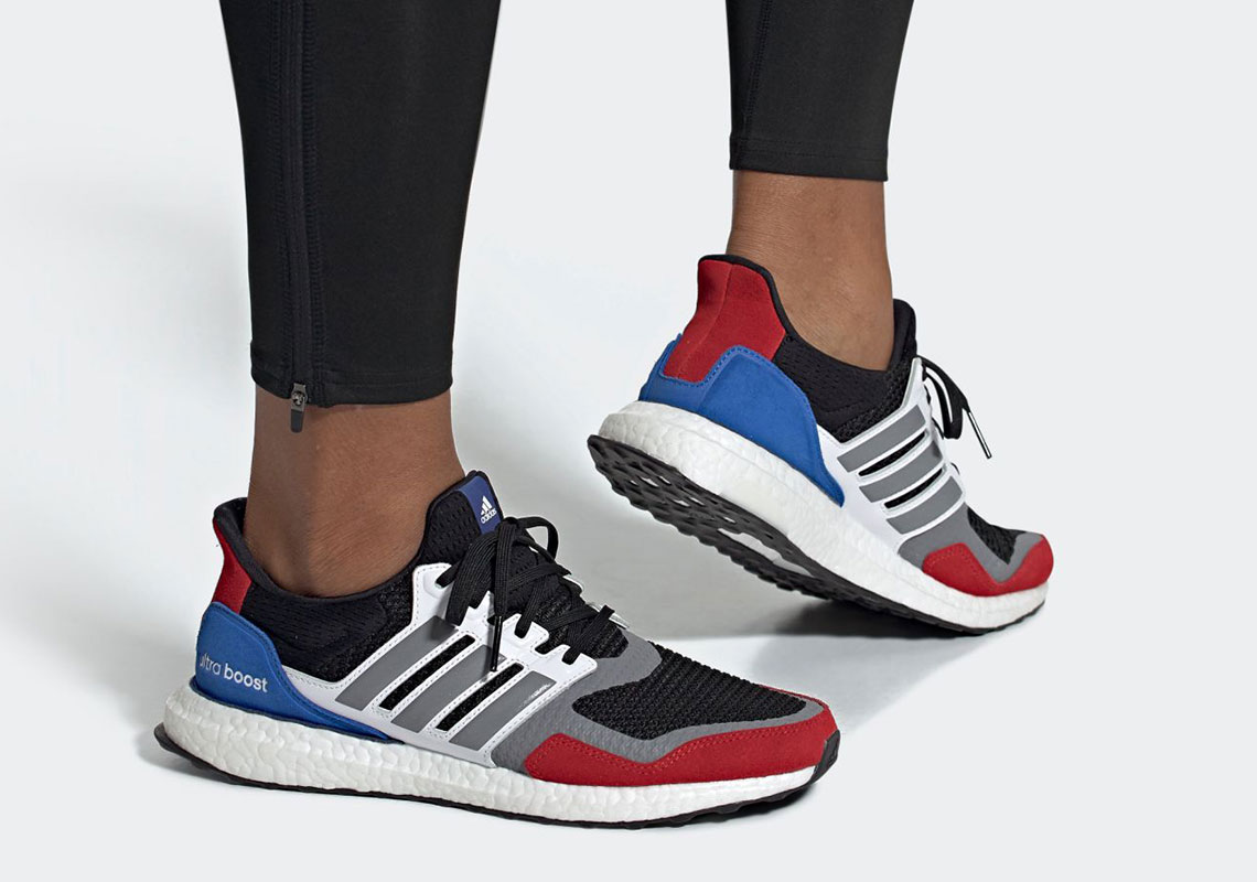 The adidas Ultra Boost S&L Gets Patriotic With Red, White, And Blue