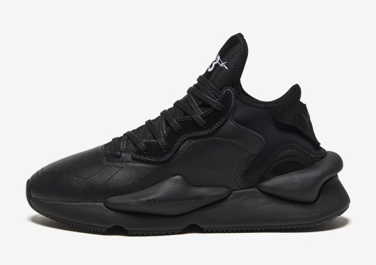 The adidas Y-3 Kaiwa Will Release In Black On June 20th