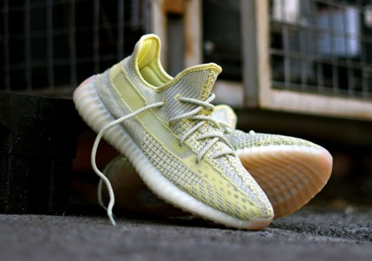 "Best Look Yet At The adidas Yeezy Boost 350 v2 ""Antlia"""
