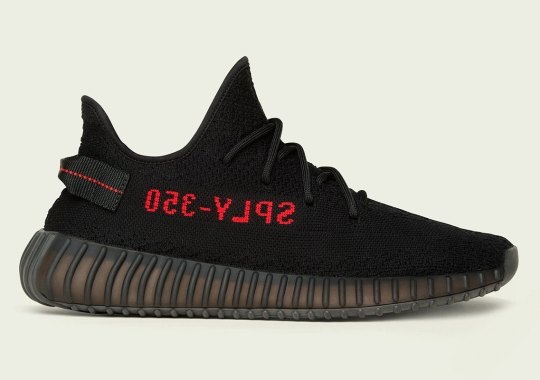 "The adidas Yeezy Boost 350 v2 ""Bred"" Will Return This Fall"