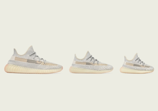 "The adidas Yeezy Boost 350 v2 ""Lundmark"" Releases On July 13th In Full Family Sizes"