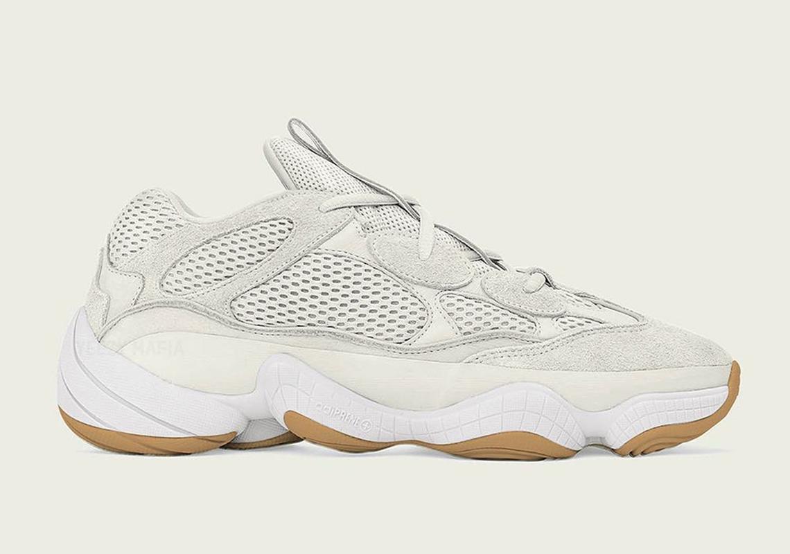 brand new 6fab0 7b39f adidas Yeezy 500 Bone White | SneakerNews.com