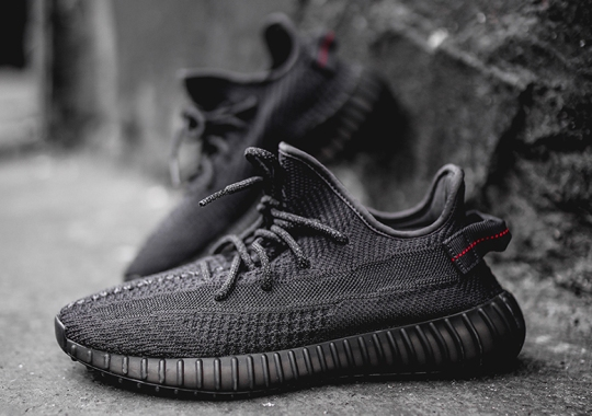 "Detailed Look At The adidas Yeezy Boost 350 v2 ""Black"""