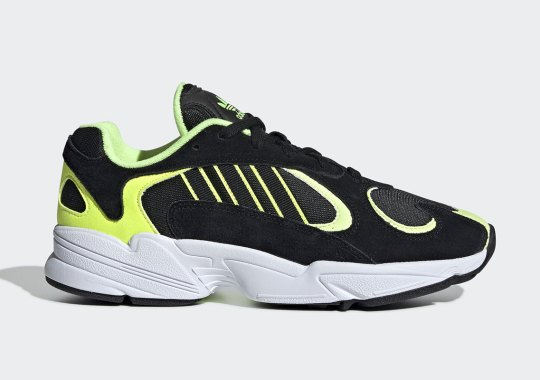 The adidas Yung-1 Gets A Sport Black And Neon Colorway