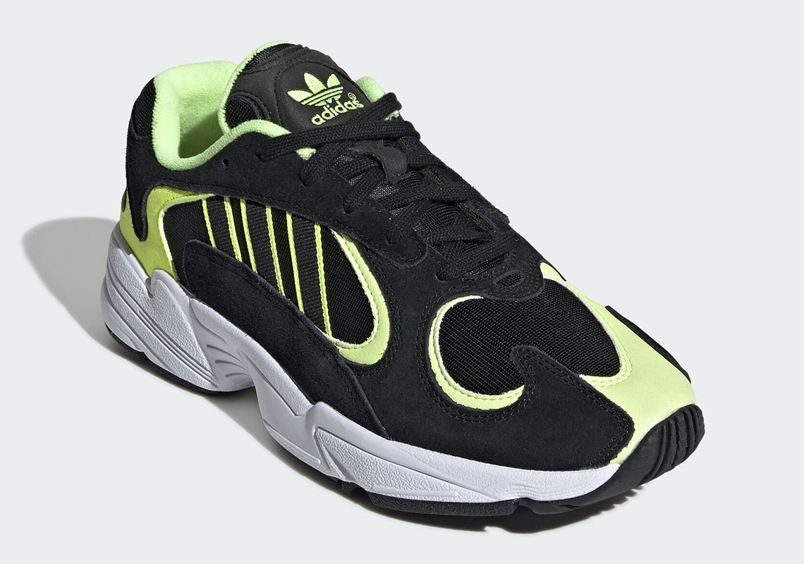 great prices skate shoes multiple colors adidas Yung 1 Neon Black EE5317 Release Info | SneakerNews.com