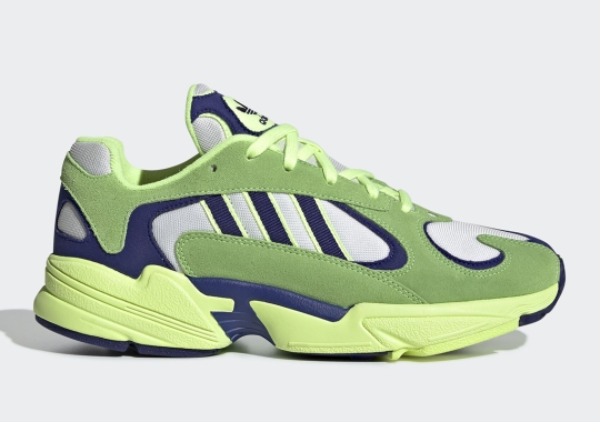 The adidas Yung-1 Appears In Solar Green