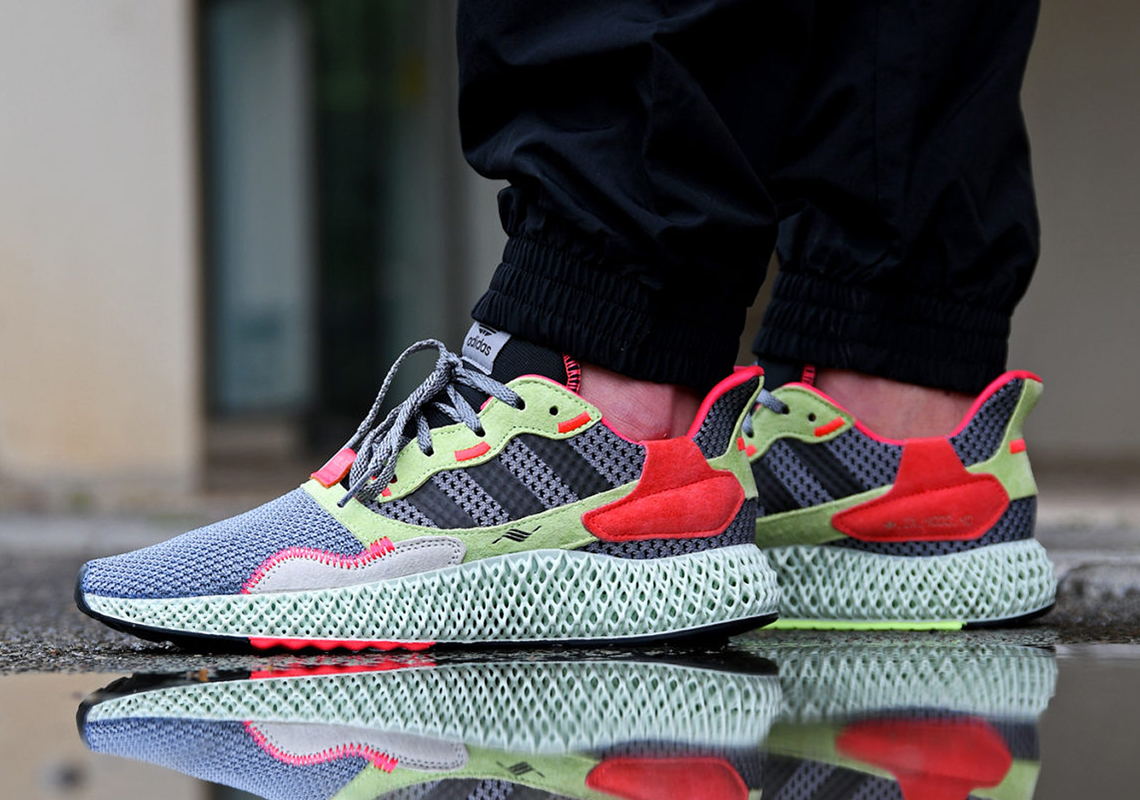 adidas ZX 4000 4D Hi Res Yellow BD7927 Store List