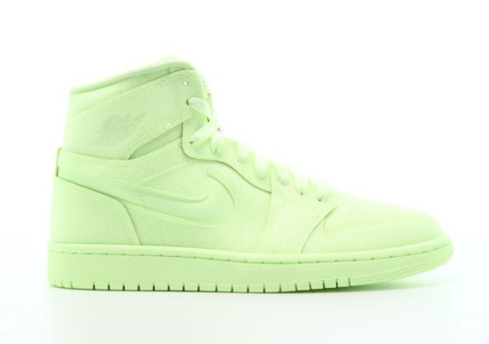 """This Women's Air Jordan 1 Completely Dresses Up In """"Barely Volt"""""""