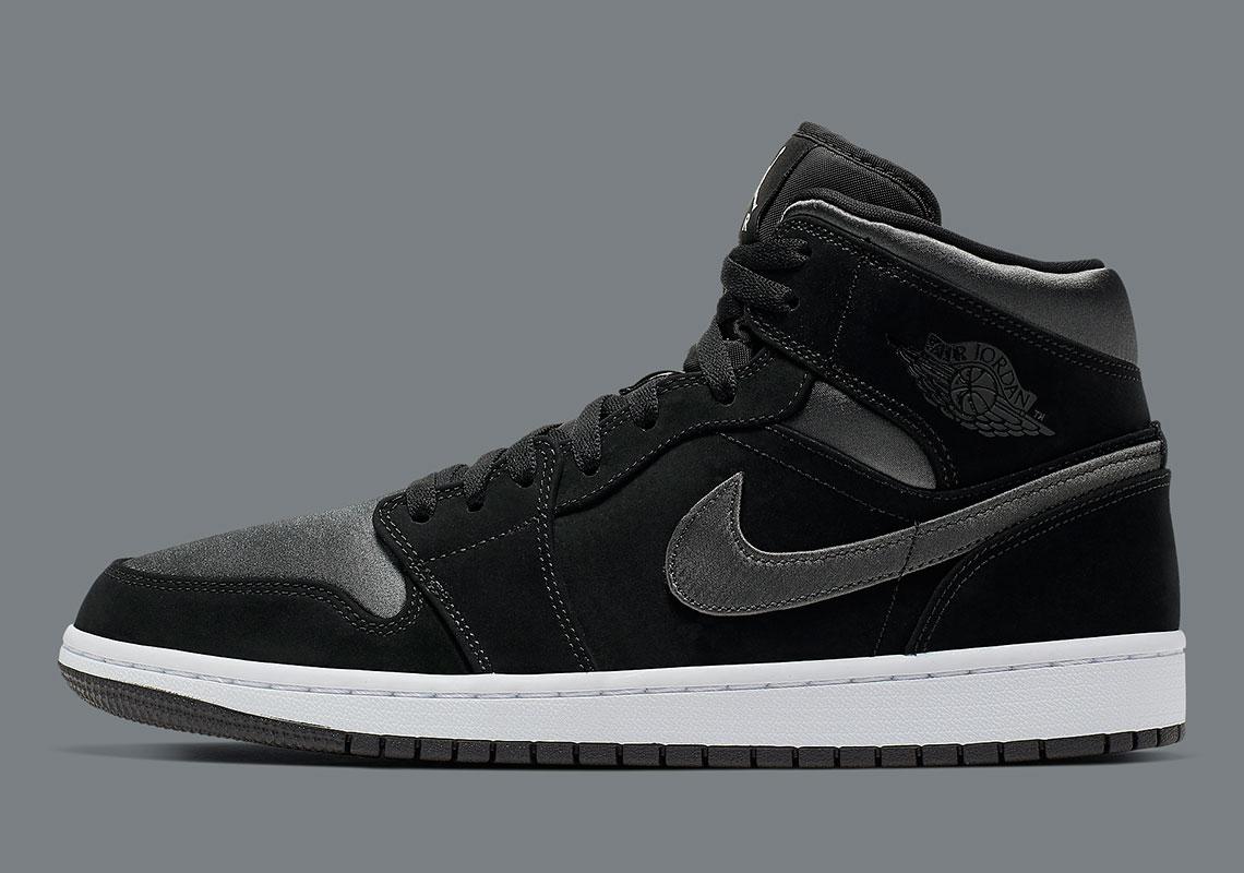 air jordans 1 black and grey