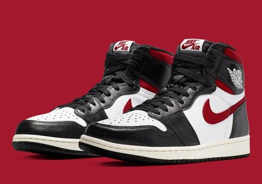 "Official Images Of The Air Jordan 1 Retro High OG ""Gym Red"""