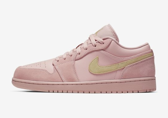 Air Jordan 1 Low To Release In A Matching Coral Suede