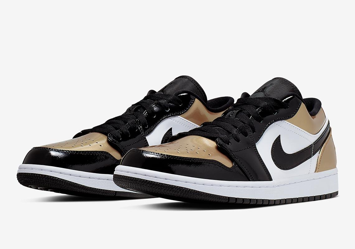 Air Jordan 1 Low Gold Toe CQ9447-700 Release Info | SneakerNews.com