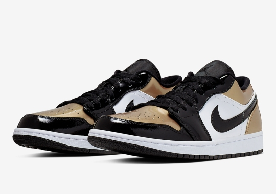 """Air Jordan 1 Low """"Gold Toe"""" Is Available Now"""
