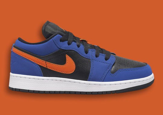 The Air Jordan 1 Low GS Is Coming Soon In Blue And Orange Hits