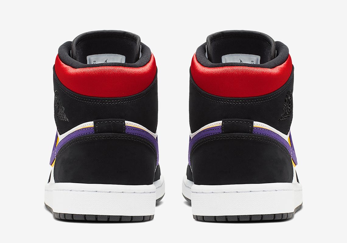 air jordan 1 mid se black field purple white