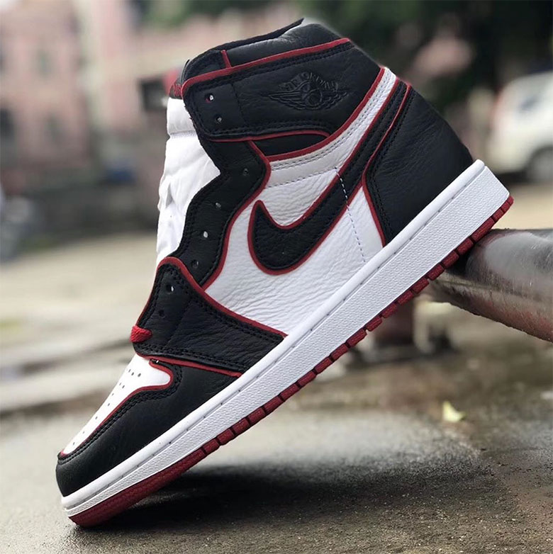 712ce474cc4e3 ... and thick red piping for a unique touch not often seen on the Air  Jordan 1. See the photos below for a closer look and stay tuned for release  updates.