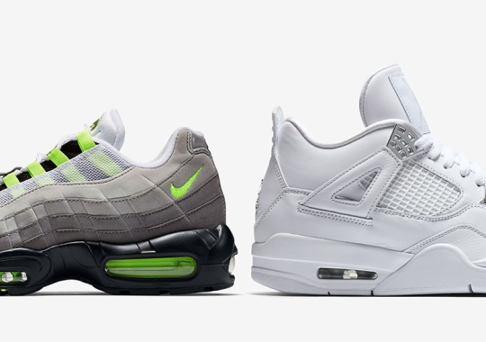 An Air Jordan 4 Inspired By The Air Max 95 Is Releasing Air Max Month 2020