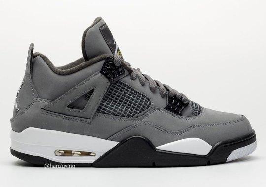"""Detailed Look At The Air Jordan 4 """"Cool Grey"""""""