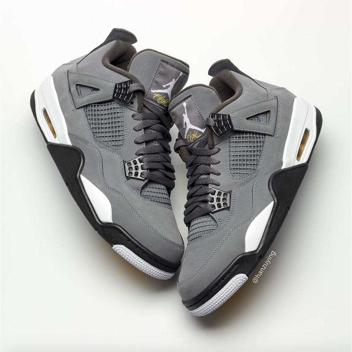 best service 78172 6b0f6 Air Jordan 4 Cool Grey 308497-007 2019 Release Date ...