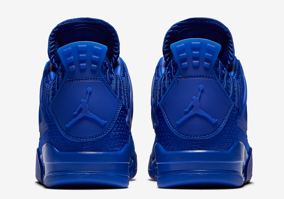 "Air Jordan 4 Flyknit ""Royal"" Release Date Confirmed: Official Images"
