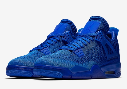 Official Images Of The Air Jordan 4 Flyknit In Royal