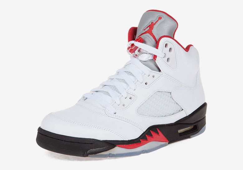 uk availability 0ad77 7ab82 Air Jordan 5 OG Fire Red 2020 Release Info | SneakerNews.com