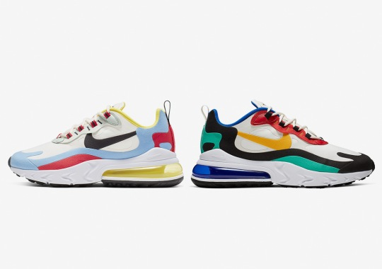 "quality design d38ee a012d Where To Buy The Nike Air Max 270 React ""Bauhaus"""