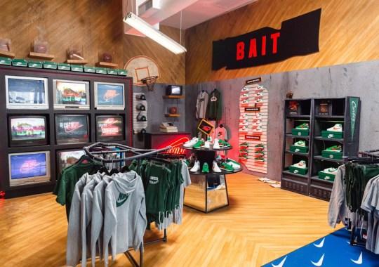 Nike Turns BAIT LA Upside Down For Stranger Things Pop-Up