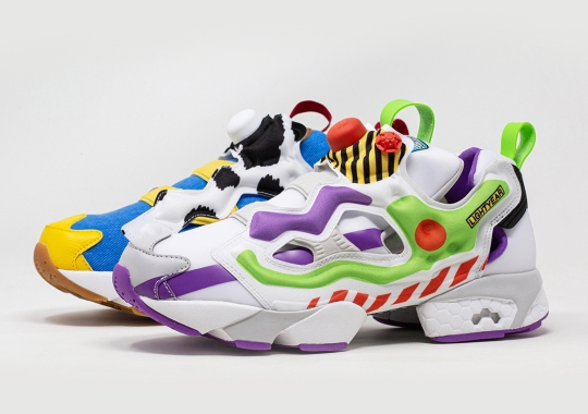 BAIT And Reebok Join Forces For A Toy Story-Themed Instapump Fury