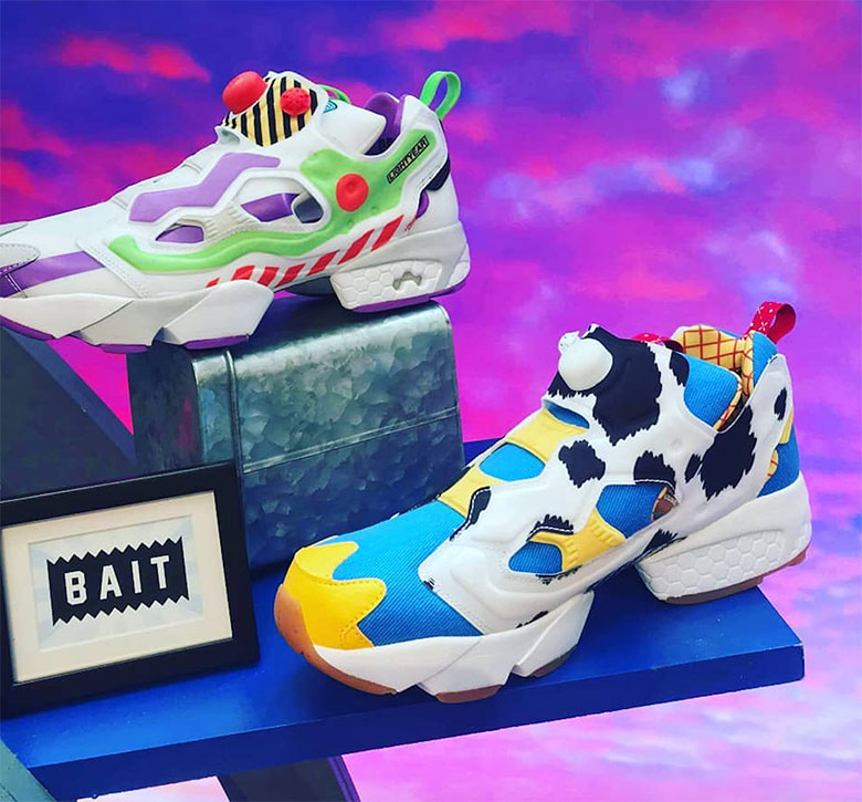 BAIT Teams With Toy Story 4 For A Reebok Instapump Fury Collaboration