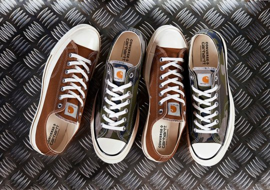 Carhartt WIP And Converse Announce A Chuck 70 Collaboration