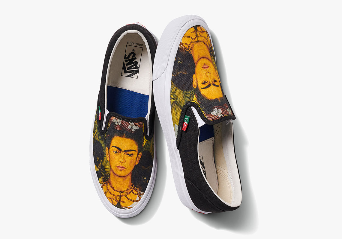 Vans Vault Pays Tribute To Frida Kahlo With Artsy New Collab