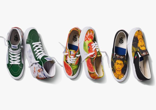 Vans Vault Honors Frida Kahlo With Artful Collaborative Footwear Collection