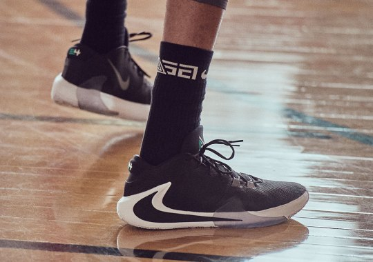 NBA MVP Giannis Antetokounmpo's Nike Zoom Freak 1 Debuts In Three Colorways