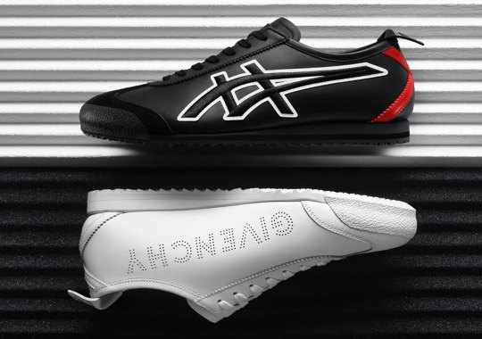 Givenchy Reveals Footwear Collaboration With Onitsuka Tiger