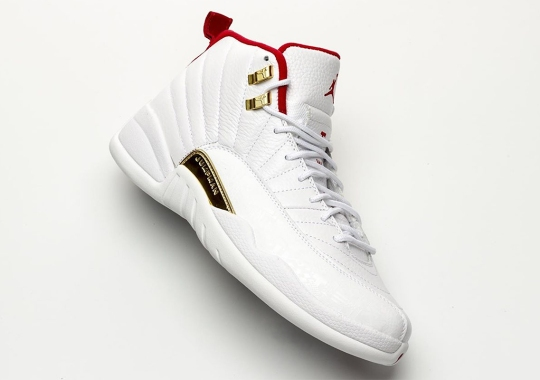 The Air Jordan 12 Goes International With New FIBA Colorway