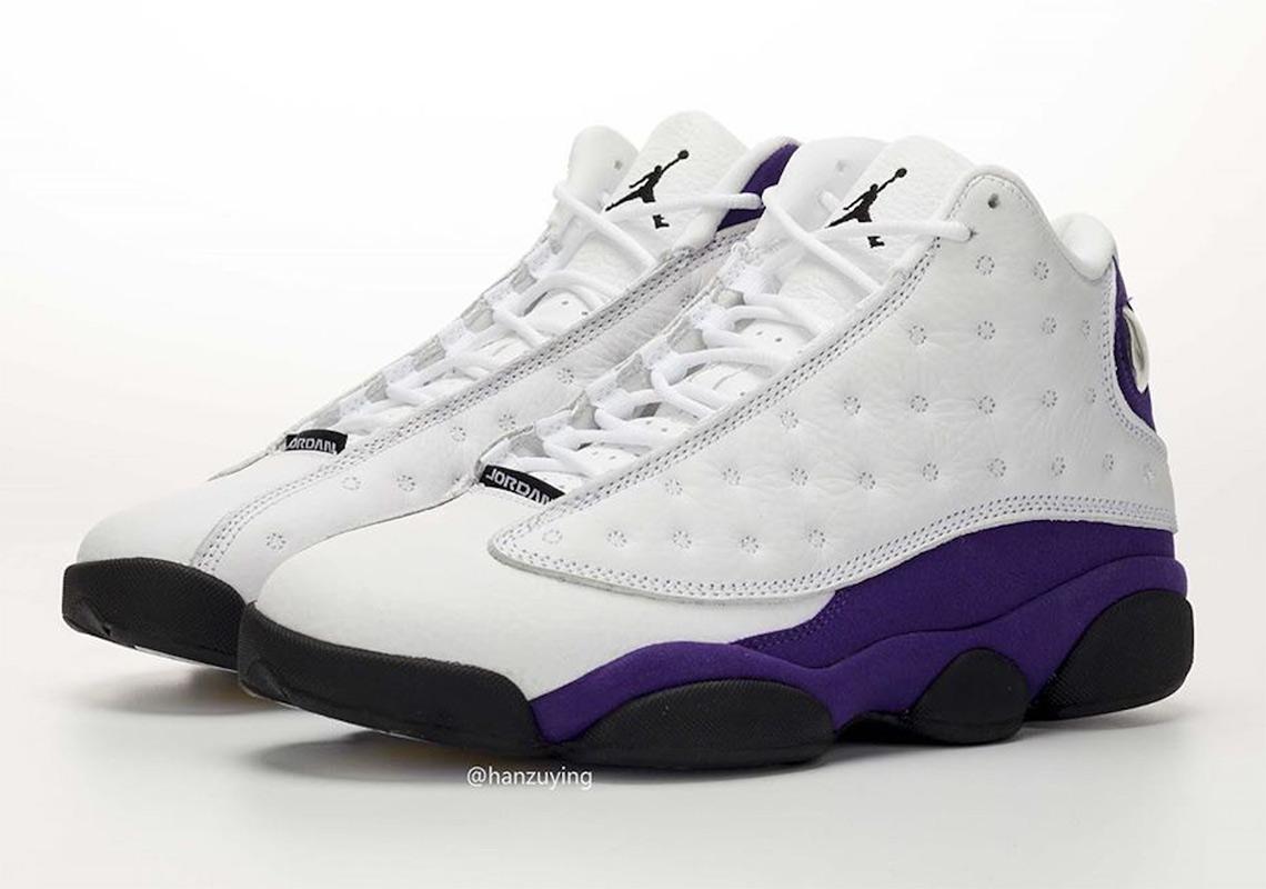 the best attitude bd9d4 dc155 Air Jordan 13 Lakers 414571-105 Release Date | SneakerNews.com