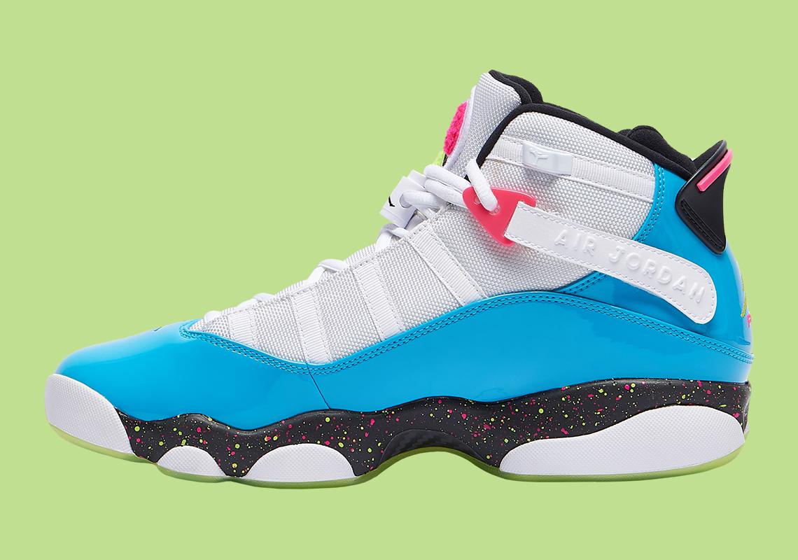 Jordan 6 Rings White Blue Green CK0018-001 Release Info ...