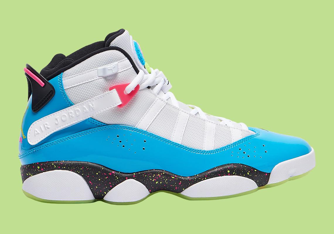 detailed look 24998 c6ef6 Jordan 6 Rings White Blue Green CK0018-001 Release Info ...