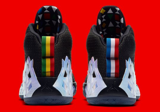 Jordan Jumpman Diamond Mid Quai 54 Features French And Ethiopian Flag Colors