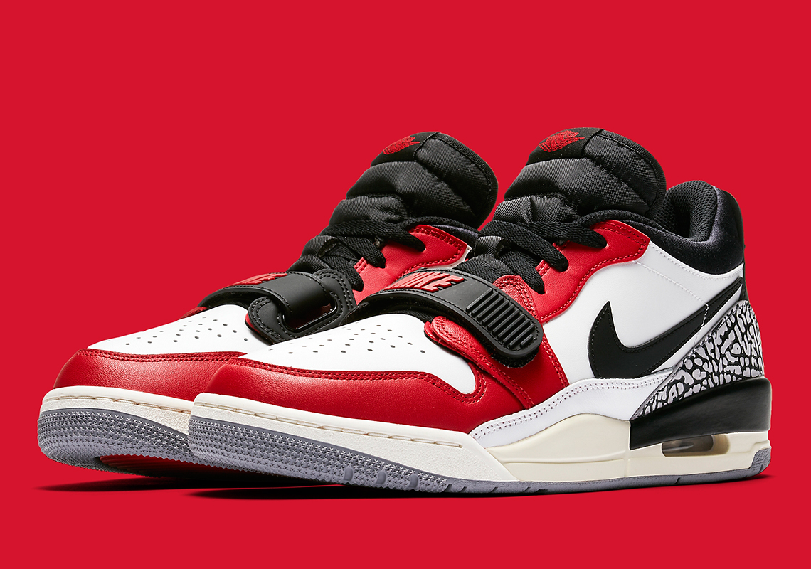 Jordan Legacy 312 Low Chicago CD7069-106 Release Info ...