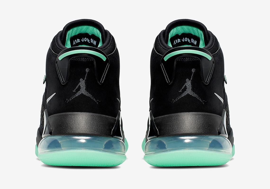 2019 Jordan Mars 270 Black Green Glow Reflect Silver CD7070